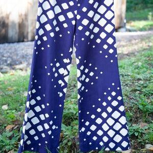 Vintage Fenno Sport Finnish Wide Leg Pants